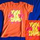 S T-Shirt für Ladies! orange Egosoul