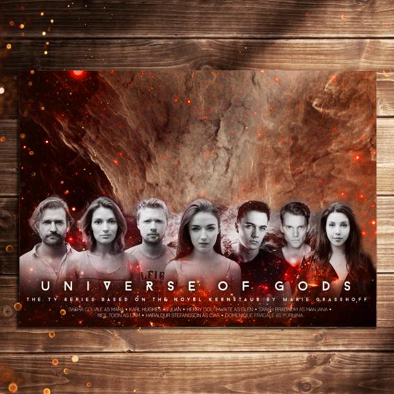 Autogrammkarte - Von allen Schauspielern signiert