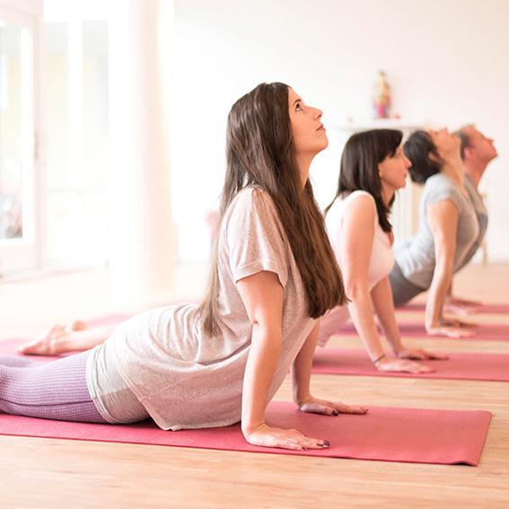 Yoga als Dinner-Ausgleich