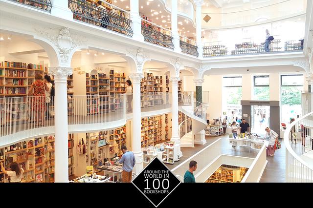 Around the world in 100 bookshops