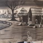 Afrikanische Gemälde