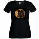 PurPur T-Shirt in schwarz (Damen)
