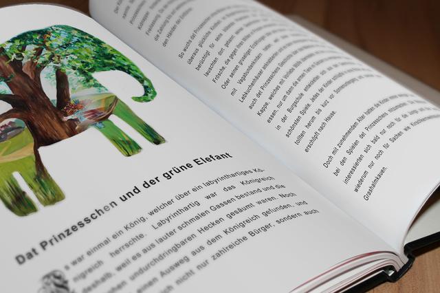 Dat Prinzesschen - Ein Märchenbuch