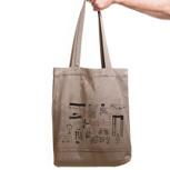"Kipepeo Twill Bag ""Nairobi City"""