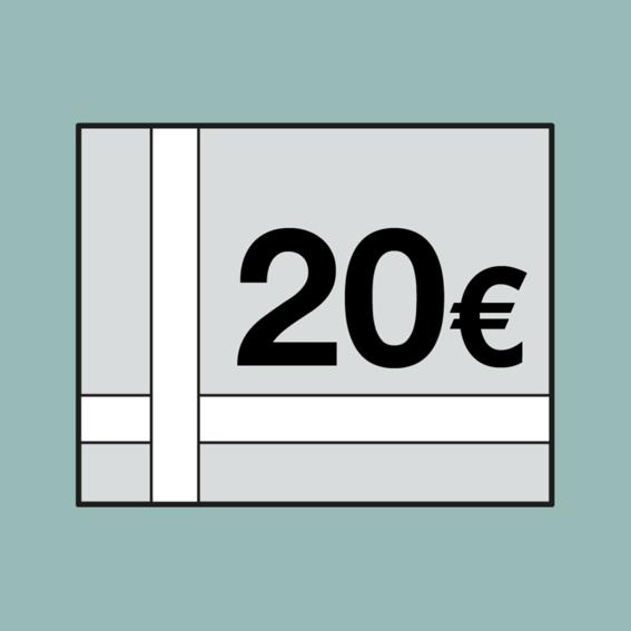 20 EUR-Einkaufs Gutschein