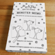 Monster-Memo-Spiel Nr. 500, handsigniert