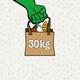 30 kg Lebensmittel retten