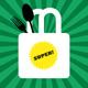 Spoonfork-Jutebeutel