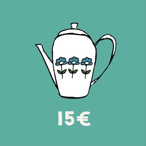 Tee + Kuchen für 2
