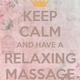 Zweihändige Massage