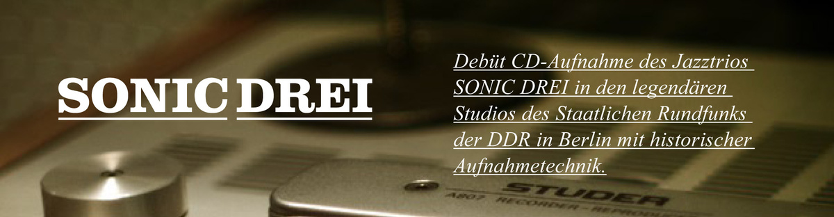 Jazz-CD Produktion mit historischer Aufnahmetechnik
