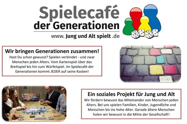 Spielecafé der Generationen - Jung und Alt spielt