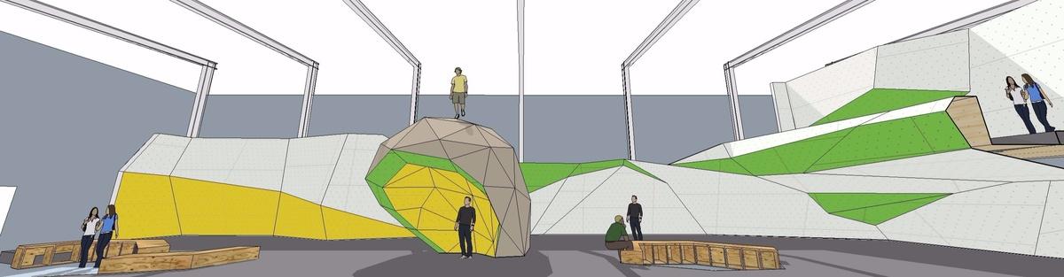 Boulderhalle für die Stadtaffen