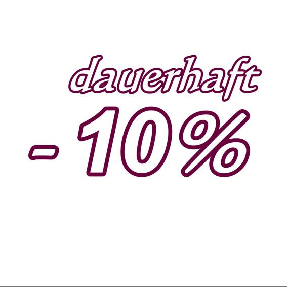Dauerkarte -10% Rabatt