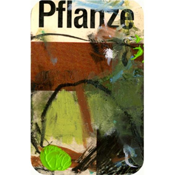 Kunstkreditkarte 'Pflanzen'
