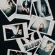 2 Polaroid-Fotos vom Abend