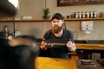 #wirgemeinsam retten die Leipziger Cafészene