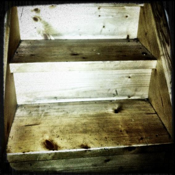 Die Treppenstufe* - stair step*