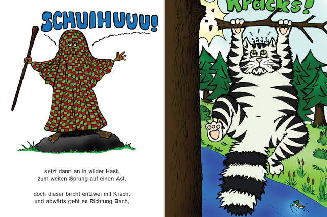 Floh Ferdinand - Der Floh mit dem Hinkebein (Kinderbuch)