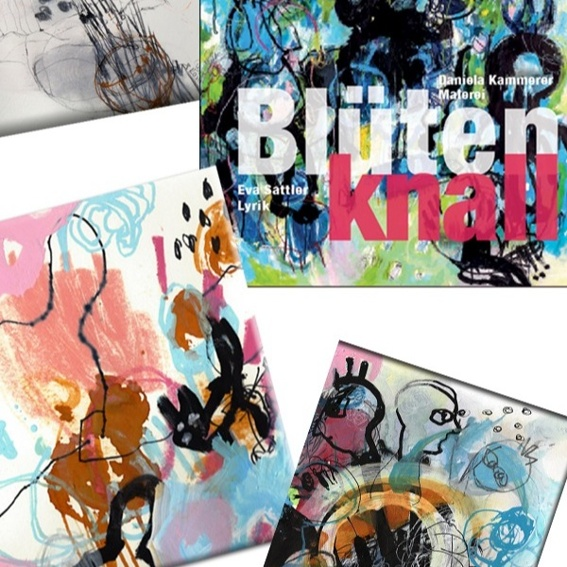 Blütenknall + Kunstwerk/Original von Daniela Kammerer