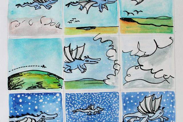 Comicbuch für Drachenliebhaber: LETO - Reise in die Halongbucht