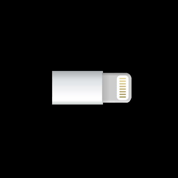 Ladeadapteranschluss für iPhone und iPad (Lightning-Connector)