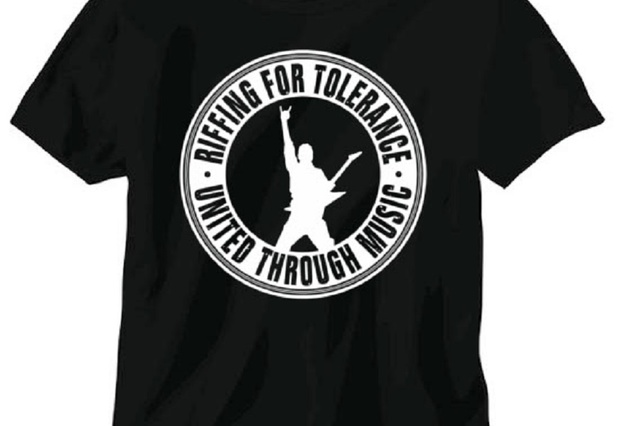 Riffing for Tolerance - T-Shirts for Tolerance