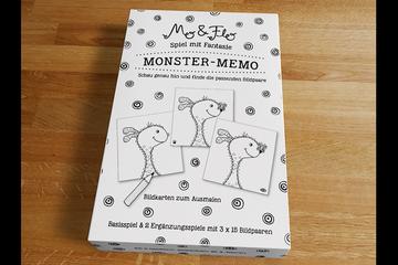 Monster-Memo-Spiel