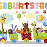 Feier bei uns Kindergeburtstag