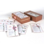 Acht Samentüten Box
