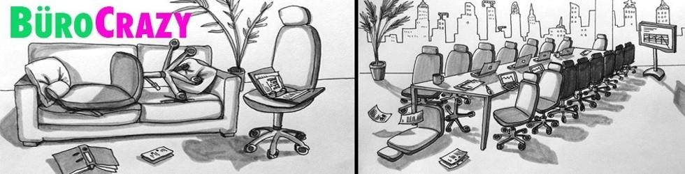 Buch: BüroCrazy - eine künstlerische Expedition zum Planeten Büro