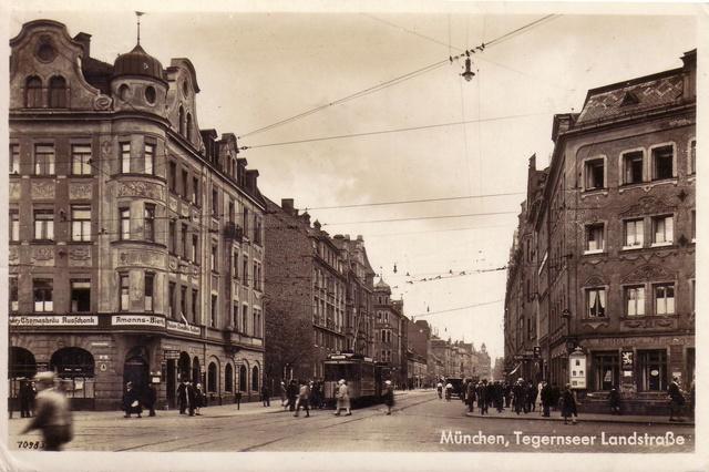 Die Tela in München - Eine Straße im Wandel der Zeit