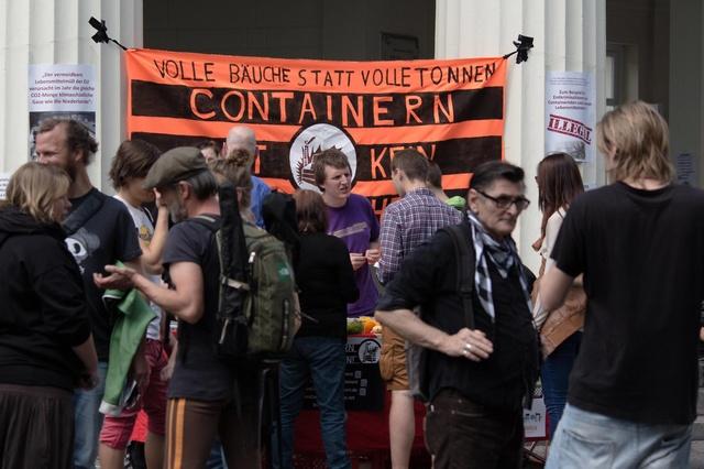Containern ist kein Verbrechen!