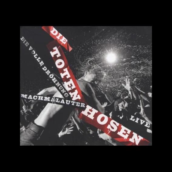 Die Toten Hosen Live - Machmalauter: Die volle Dröhnung limitiertes Photobuch + 2x DVD+ 2x CD SIGNIERT