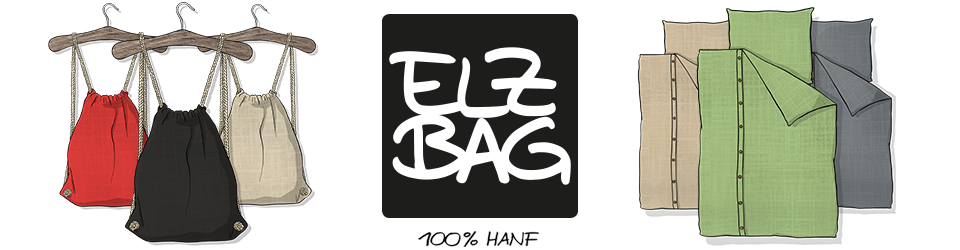 ELZBAG - sustainable textiles made of hemp
