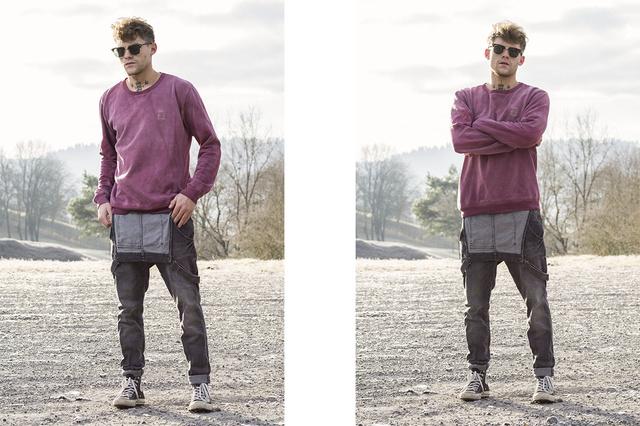 MARGA giftfreie Streetwear 100%natürliche Färbung