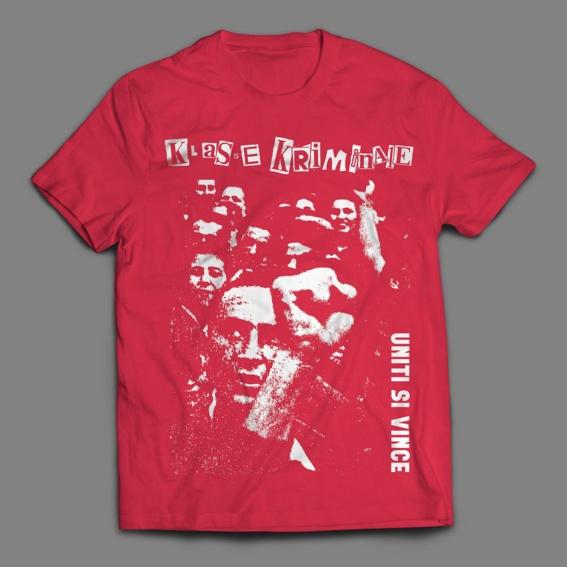 """Klasse Kriminale """"Uniti Si Vince"""" T-Shirt"""