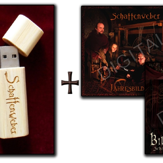 CD - Paket - Bilderspiel + Jahresbild per Schattenweber-Usb-Stick