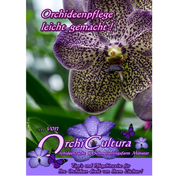 Orchideen-Pflege-Broschüre