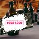100 Flaschen mit deinem eigenen Design (Koldbrew Tonic)
