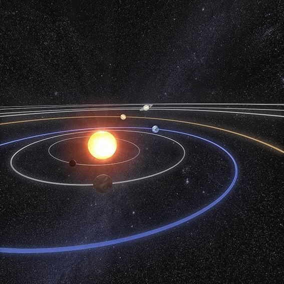 Innovativ: Miniatur-Planetenweg