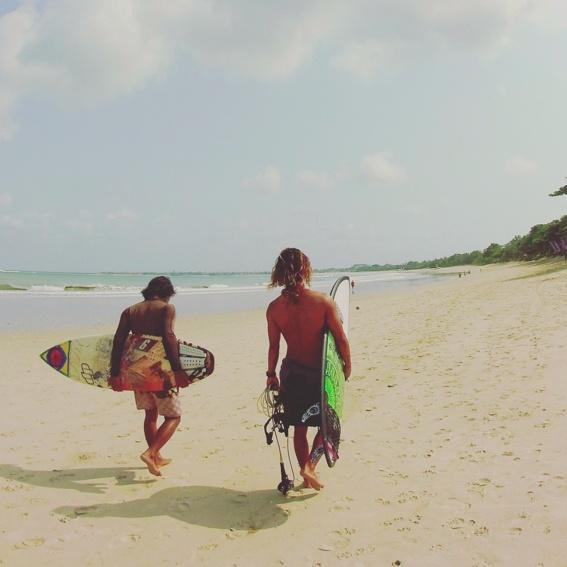 Bali Surf Gedicht für Dich!