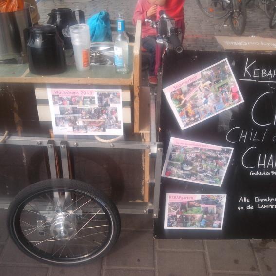 Ausleihe des KEBAP Lastenrads für 1 Wochenende