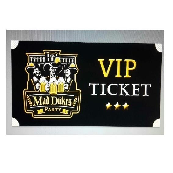 Mad Dukes VIP Partypass + Bierflat
