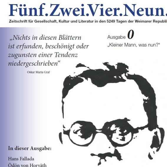 """Jahresbezug der Zeitschrift """"Fünf.Zwei.Vier.Neun."""""""