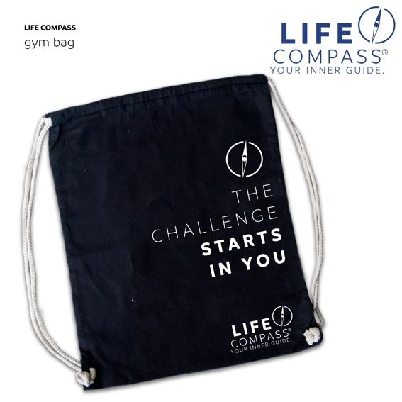 LIFE COMPASS Gym Bag