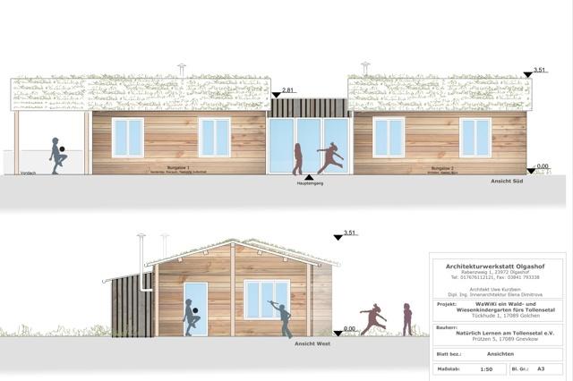WaWiKi - ein Dach für einen Waldkindergarten
