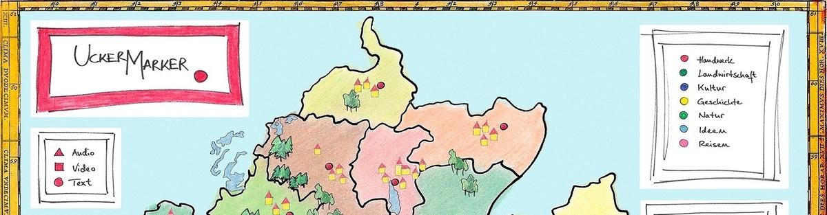 UckerMarker - Multimediale Landkarte einer unterschätzten Region