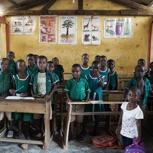 Bau eine Schule