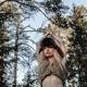 foto-kunst-set : uthana im wald in finnland - fotografiert von der künstlerin carolin koss.